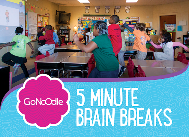 Give your students a quick, energizing brain break throughout the day.